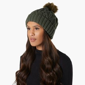 Cold Weather Cable Knit Beanie